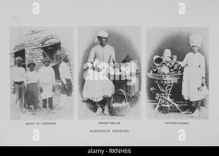 Barbadian Negroes. Hill, Robert Thomas, 1858-1941 (Author). Cuba and Porto Rico : with the other islands of the West Indies : their topography, - Stock Photo