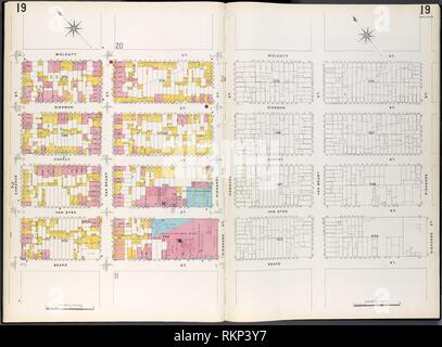 Brooklyn Plate No. 19 [Map bounded by Conover St., Wolcott St., Richards St., Beard St.]. Sanborn Map Company (Publisher). Atlases of New York City