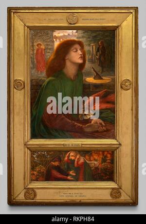 Beata Beatrix - 1871/72 - Dante Gabriel Rossetti English, 1828-1882 - Artist: Dante Gabriel Rossetti, Origin: England, Date: 1871–1872, Medium: Oil - Stock Photo