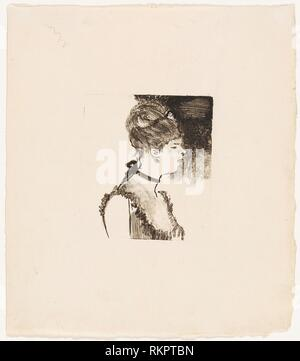 Café-Concert Singer - 1878/80 - Edgar Degas French, 1834-1917 - Artist: Hilaire Germain Edgar Degas, Origin: France, Date: 1878–1880, Medium: - Stock Photo
