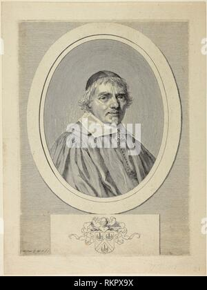 Omer Talon - 1645/52 - Claude Mellan French, 1598-1688 - Artist: Claude Mellan, Origin: France, Date: 1645-1652, Medium: Engraving on paper, - Stock Photo