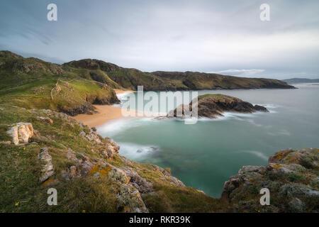 Donegal Irlanda Fotografia Stampa boyeeghtar Bay omicidio Foro Beach Wall Art