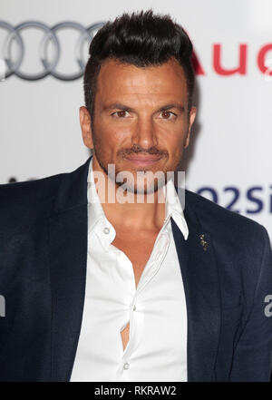 Peter Andre arrives at the Nordoff Robbins 02 Silver Clef Awards, Park Lane Hilton - Stock Photo