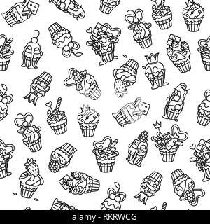 vector seamless pattern Little Princess paper art - Stock Photo