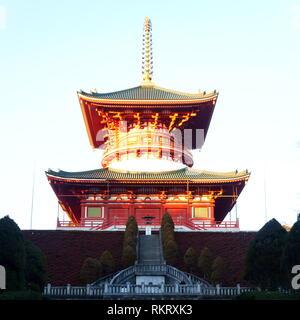 Great Pagoda of Peace in Narita, Japan - Stock Photo