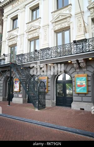 AMSTERDAM, NETHERLANDS - JULY 10, 2017: Royal Theatre Carre in Amsterdam, Netherlands. The theatre was founded in 1887. - Stock Photo