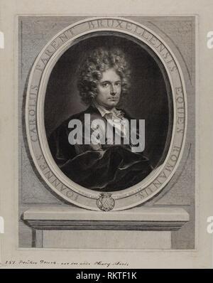 Jean-Charles Parent - Gérard Edelinck (French, born Flanders, 1640-1707) after François Tortebat (French, c. 1621-1690) - Artist: Gérard Edelinck, - Stock Photo