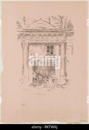 The Whitesmiths, Impasse des Carmélites - 1894 - James McNeill Whistler American, 1834-1903 - Artist: James McNeill Whistler, Origin: United States, - Stock Photo