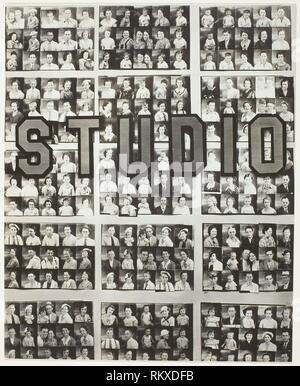 Penny Picture Display, Savannah - 1936, printed c. 1962 - Walker Evans American, 1903–1975 - Artist: Walker Evans, Origin: United States, Date: 1936, - Stock Photo