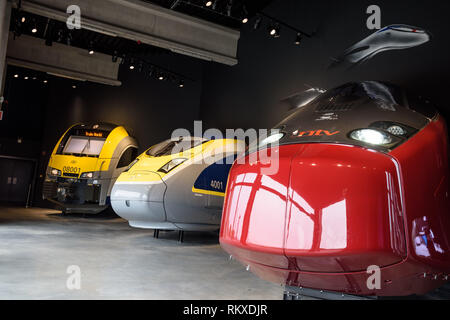 Brüssel, Eisenbahnmuseum Train World - Brussels, Train World Railway Museum - Stock Photo
