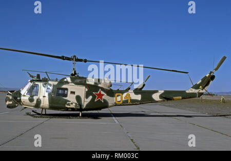 US ARMY / United States Army Bell JUH-1H - Aggressor Unit National Training Centre - Stock Photo