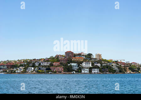 Ferry ride from Circular Quay to Manly in Sydney. - Stock Photo