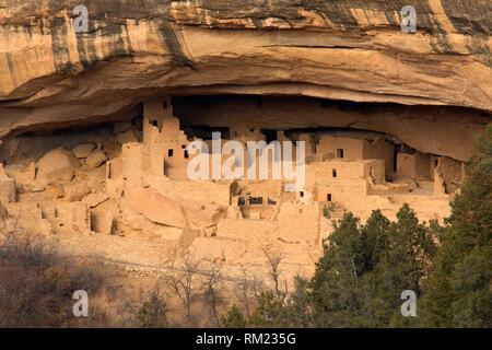 Cliff Palace, Mesa Verde National Park, Colorado. - Stock Photo