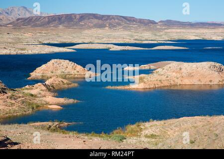 Lake Mead, Lake Mead National Recreation Area, Nevada. - Stock Photo