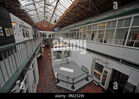 Manchester Craft and Design Centre, artists workshops and exhibitions, 17 Oak St, Manchester M4 5JD, Northern Quarter - Stock Photo