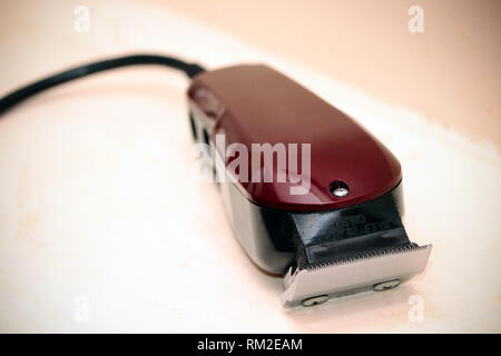 Electric Hair Clippers - Stock Photo