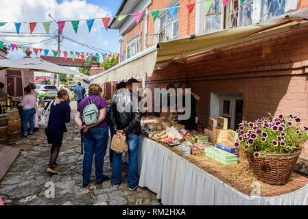 Russia, Kolomna. Museum Pastila Factory. - Stock Photo