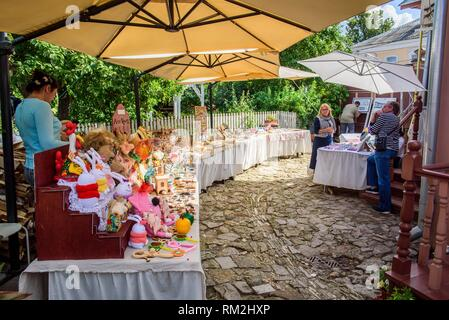 Russia, Kolomna. Products in the Museum Pastila Factory. - Stock Photo