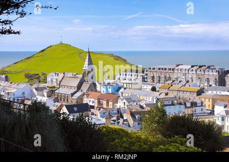 Ilfracombe, North Devon, England, UK - Stock Photo