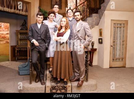 https www alamy com casting of el secreto de puente viejo in the set filming on june 08 2017 in madrid spain photo by angel manzano image236108344 html