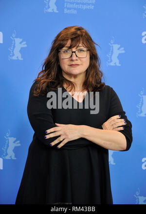 Berlin, Germany. 13th Feb, 2019. Berlin Film Festival. Photocall of the film Elisa & Marcela. Pictured: Isabel Coixet Credit: Independent Photo Agency/Alamy Live News - Stock Photo