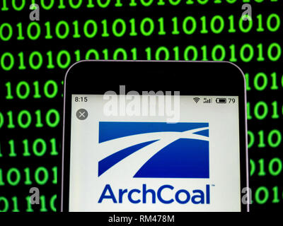 Arch Coal, American coal mining and processing company  logo