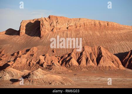 Chile, Antofagasta Region, Atacama Desert, Valle de la Luna; - Stock Photo
