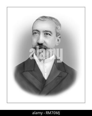 Anatole France 1844-1924 French Novelist Critic Poet - Stock Photo