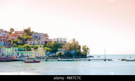 Small town called Playa Hucares in Naguabo, Puerto Rico, USA.