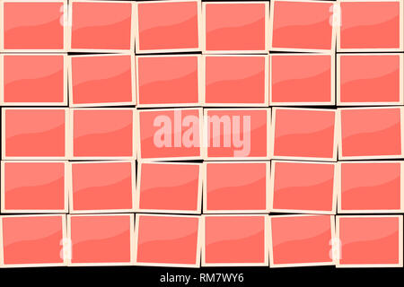 30 fields like Polaroid Photos in trend color 2019 Living Coral