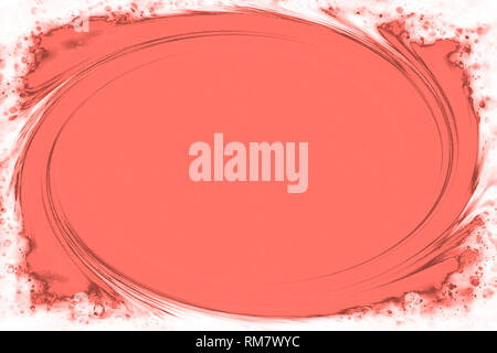 Swirling background in trendy color. 2ß10 Living coral