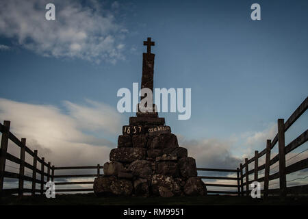 Maggie WallMemorial, Dunning, Perhtshire, Scotland - Stock Photo