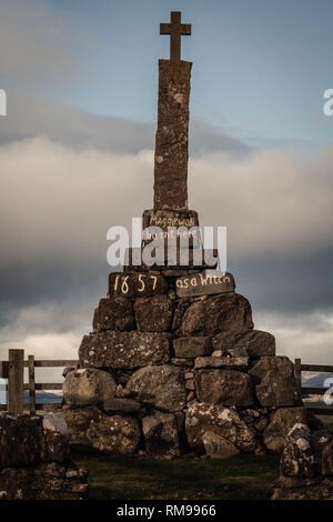 Maggie wall Memorial, Perthshire,Scotland - Stock Photo