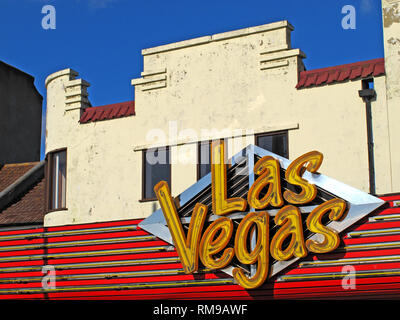 Las Vegas Grill, Southend, seafood, 46 Marine Parade, Southend-on-Sea SS1 2EN - Stock Photo