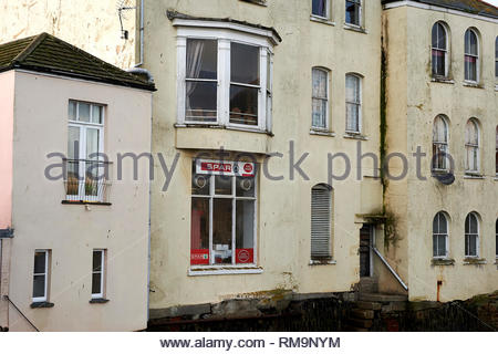 Falmouth in Cornwall In England in the UK - Stock Photo