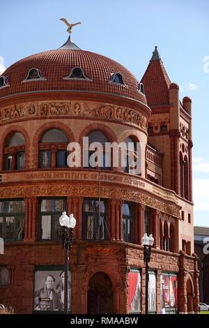 The Barnum Museum in Bridgeport Connecticut - Stock Photo