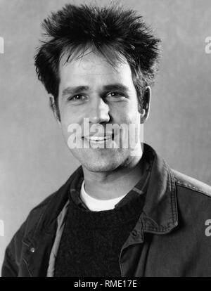 A portrait of the German film director Christoph Schlingensief. - Stock Photo