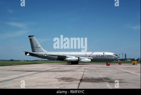 USAF United States Air Force Boeing KC-135A Stratotanker - Stock Photo
