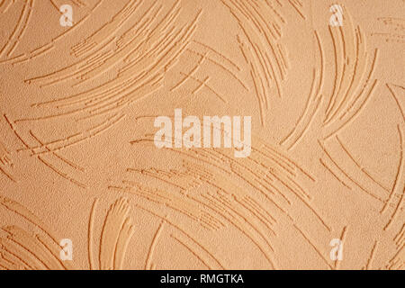 Textured wallpaper showing the texture and pattern - Stock Photo