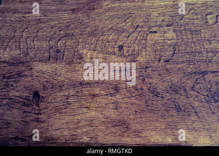 Old wood showing signs of wear and stain - Duo Toned - Stock Photo