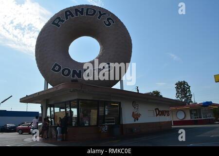 Inglewood Randy''s Donuts Shop - Stock Photo