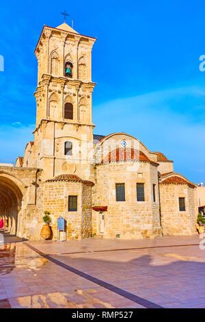 The Church of Saint Lazarus (Agios Lazaros) in Larnaca , Cyprus - Stock Photo