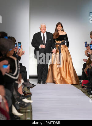 Designer Dennis Basso And Carol Alt Walk Runway For Dennis Basso Fall Winter 2019 Collection During Fashion Week At Cipriani 42nd Street Photo By Lev Radin Pacific Press Stock Photo Alamy