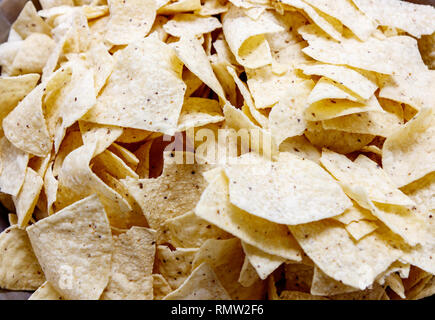 A Pile of Tortilla chips - Stock Photo