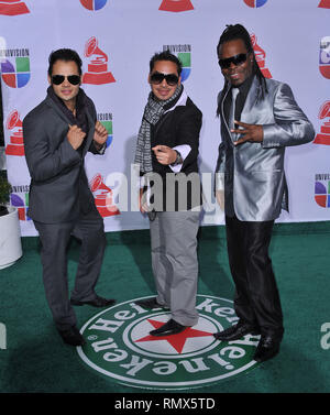 Alerta 3  at the 12Th Latin Grammy Awards at TheMandalay Bay Hotel in Las Vegas.Alerta 3  Event in Hollywood Life - California, Red Carpet Event, USA, Film Industry, Celebrities, Photography, Bestof, Arts Culture and Entertainment, Topix Celebrities fashion, Best of, Hollywood Life, Event in Hollywood Life - California, Red Carpet and backstage, movie celebrities, TV celebrities, Music celebrities, Topix, actors from the same movie, cast and co star together.  inquiry tsuni@Gamma-USA.com, Credit Tsuni / USA, 2011 - Group, TV and movie cast - Stock Photo