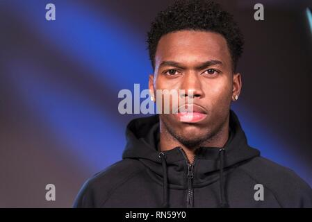 Daniel Sturridge. Liverpool FC football player - Stock Photo