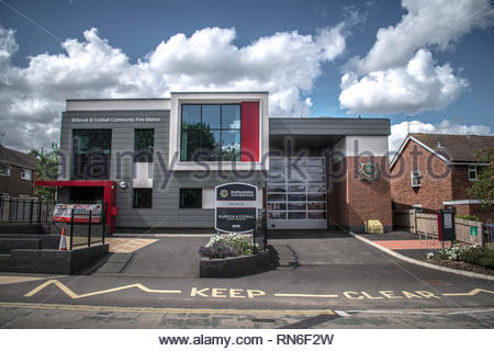 Billbrook and Codsall community fire station - Stock Photo