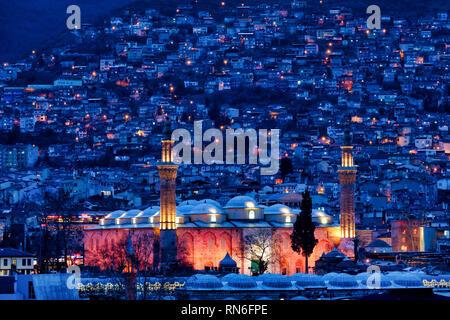 Grand Mosque of Bursa, Turkey - Stock Photo