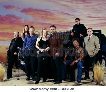 HALL,FOX,EADS,HELGENBERGER,PETERSEN,DOURDAN,SZMANDA,GUILFOYLE, CSI: CRIME SCENE INVESTIGATION, 2003 - Stock Photo