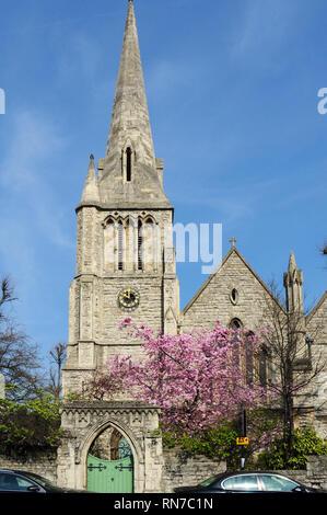 Parish Church of St Mark, Regent's Park, London, England, UK - Stock Photo